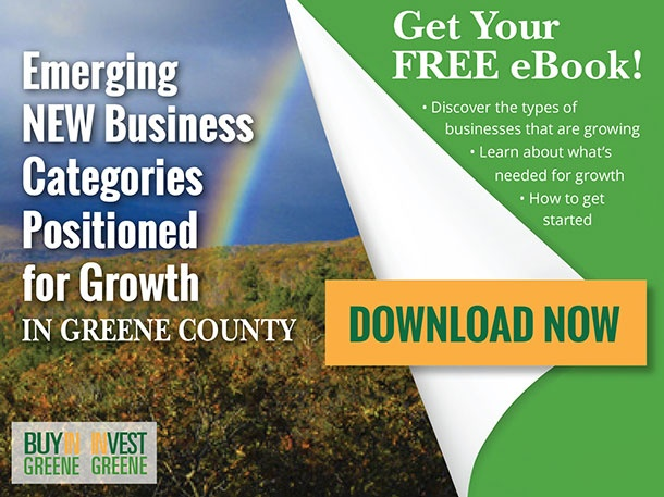 FREE ebook: Emerging New Business Categories Positioned for Growth in Greene County